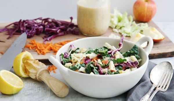 Winter salad: Kaleslaw!