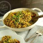 30 min Vegetable Indian Pulao (vegan, gluten-free)