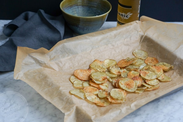 Healthy homemade chips