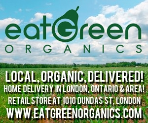 Eat Green Organics ad