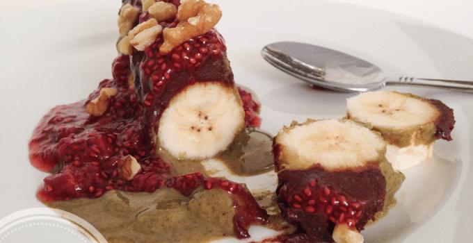 Banana breakfast – Real (fast) food (vegan, gluten-free, paleo)