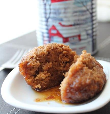 Wheatless Wednesday: Pouding chômeur cupcakes (vegan, no wheat, no cane sugar)