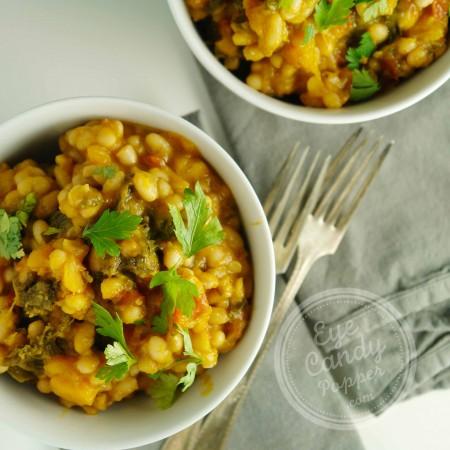 Kale, Butternut Squash, and White Bean Stew (vegan, gluten-free, paleo)