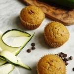 Zucchini chocolate chip muffins (gluten-free, dairy-free, paleo-friendly)