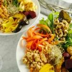 Meatless Monday: Autumn nourishing bowl with roasted squash and cauliflower (vegan, gluten-free, paleo)