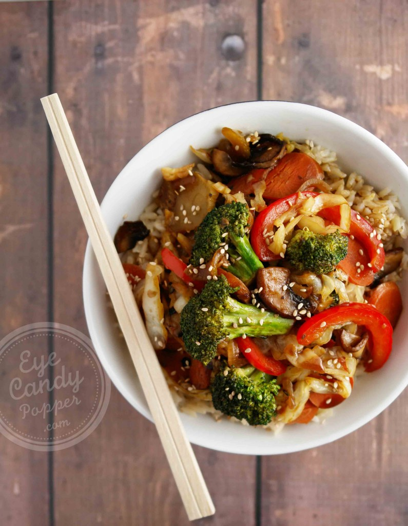 Meatless Monday 30 Min Healthy Chinese Vegetable Stir Fry