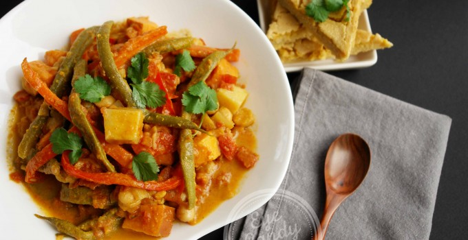 Meatless Monday: Sweet Potato Coconut Curry (vegan, paleo, gluten-free)