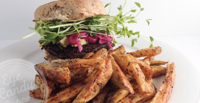 Meatless Monday: Mushroom and walnut burgers (vegan, gluten-free, paleo)