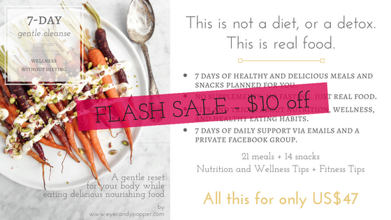 FLASH SALE 7-day gentle cleanse guide