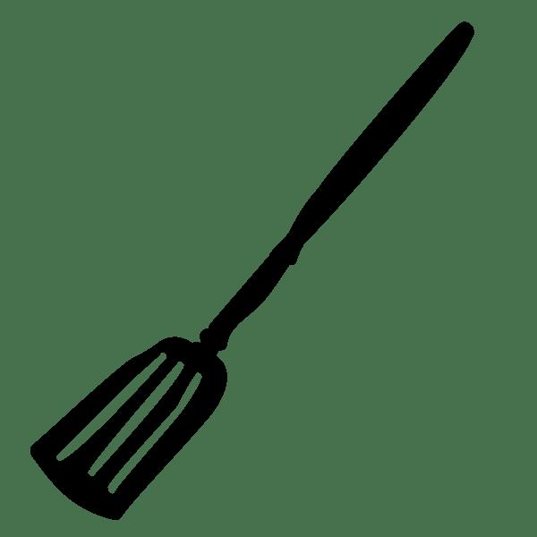 Drawing of a spatula