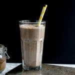 Chocolate Blueberry Smoothie for Two | Dairy-Free, Refined Sugar-Free