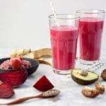 Heart Beet Smoothie | Dairy-Free, Refined Sugar-Free