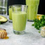 Super Healthy Green Smoothie | Dairy-Free | Refined Sugar-Free
