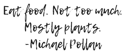 Eat food. Not too much. Mostly plants. quote