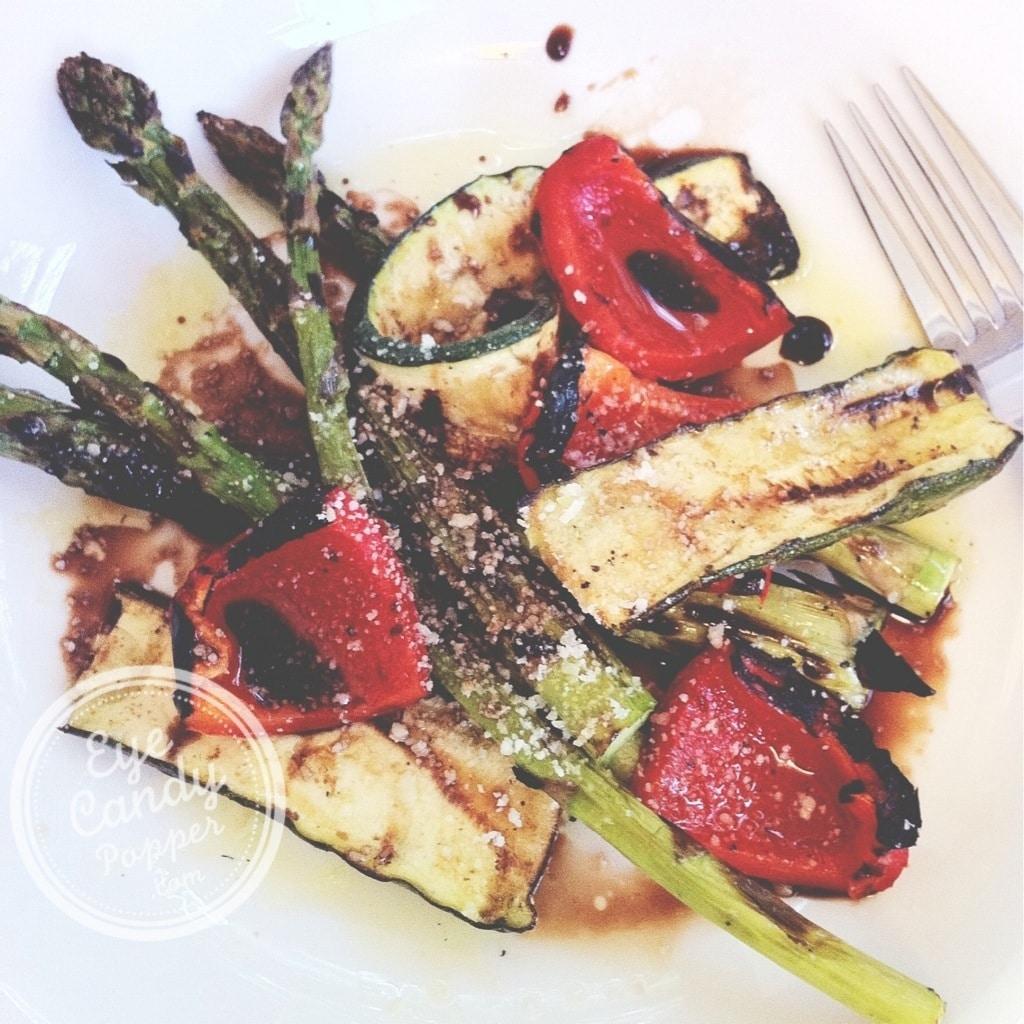 Simple Barbecued Vegetable Salad