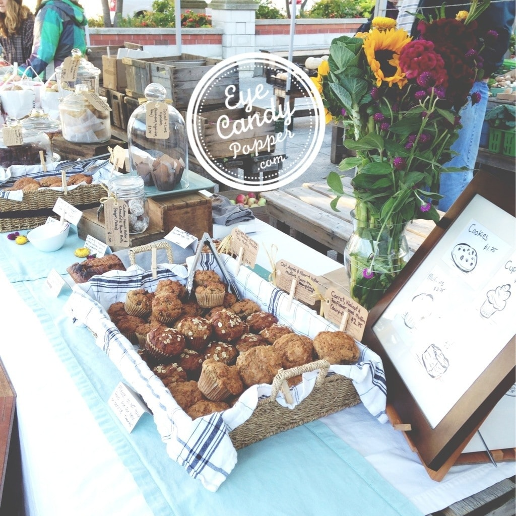 Market Home: Cutest Farmers Market Table