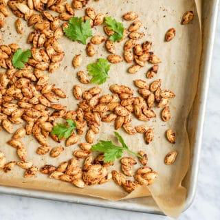 How To Roast Pumpkin Seeds   Vegan, Gluten-Free