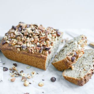 Gluten-Free Maple Banana Bread | Vegan, Refined Sugar-Free