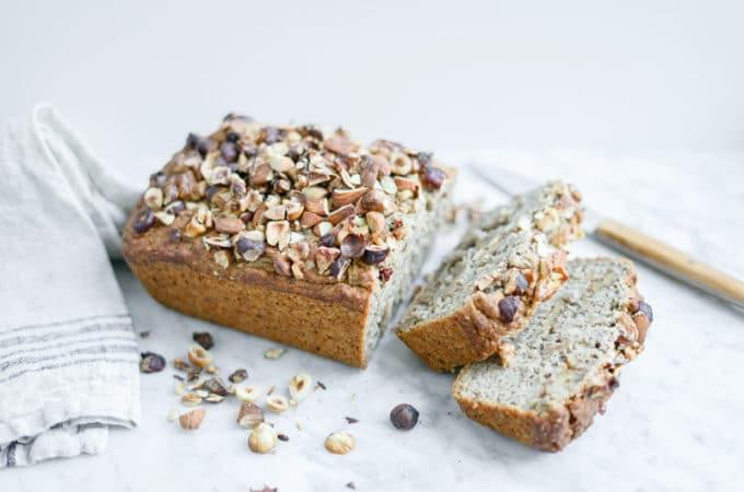 Gluten-Free Maple Banana Bread | Vegan, Refined Sugar-Free