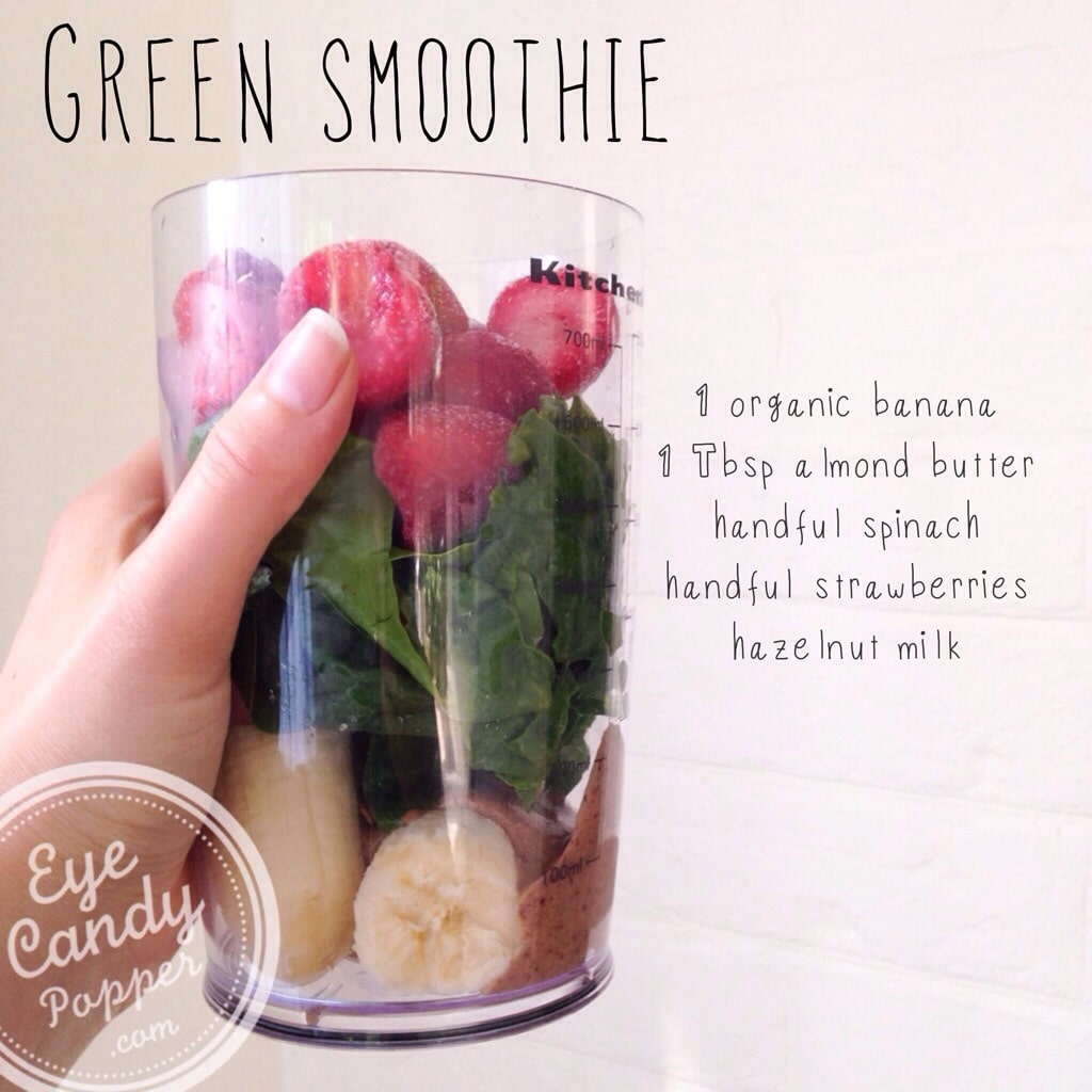 How to Make a Green Smoothie pics