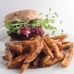 Meatless Monday: Mushroom and walnut burgers (vegan, gluten-free)