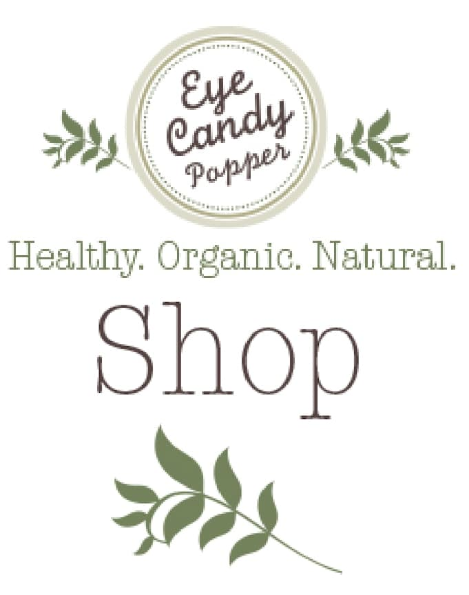 Purchase eCookbooks, Healthy Guides and Handmade Organic Products from Eyecandypopper!