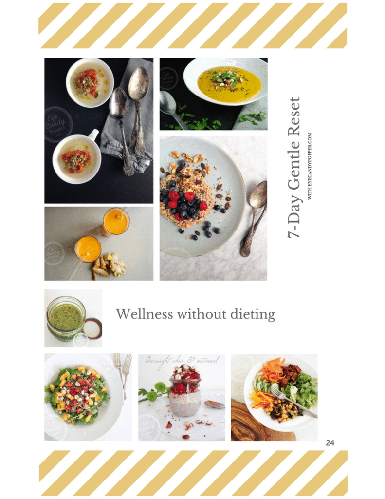 7 day cleanse food pictures