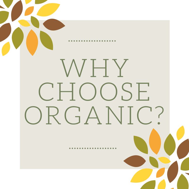 This 5-part series will answer your questions about organic food and products. What does organic mean? Why choose organic? Read on to find out!