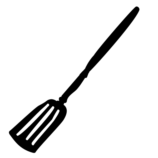 Drawing of a spatula