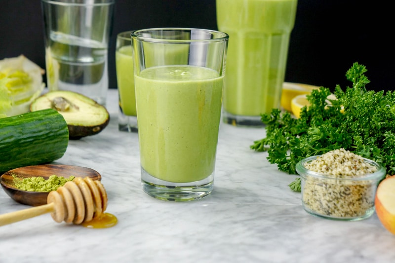 Super Healthy Green Smoothie