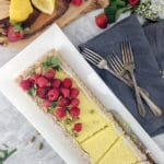 Gluten-Free Lemon Curd Tart | Dairy-Free, Refined Sugar-Free