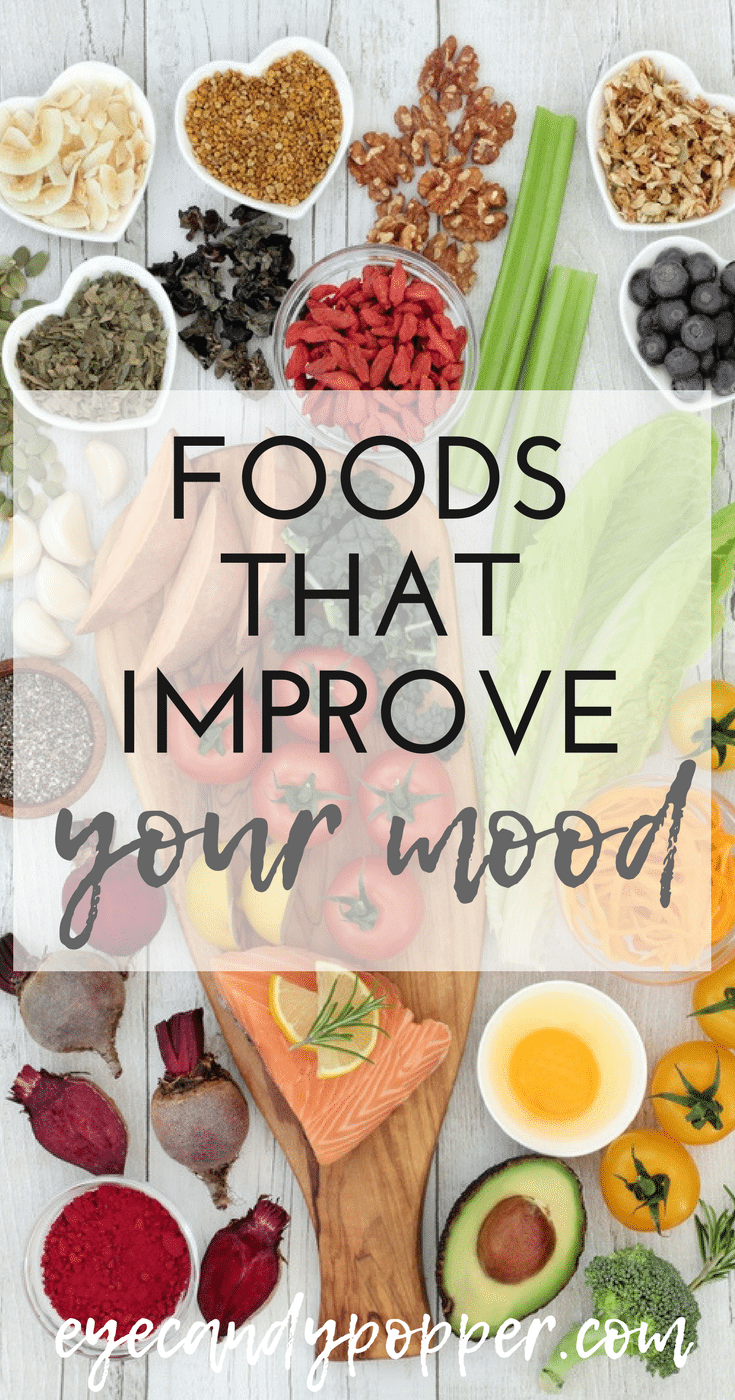 Foods That Improve Your Mood: You Are What You Eat #health